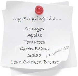 My Healthy Shopping List