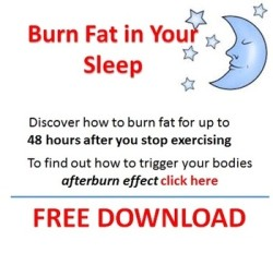 Burn Fat in Your Sleep