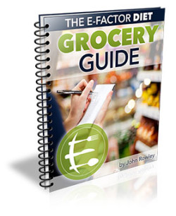 John Rowley E-Factor Diet Review (Grocery Guide)