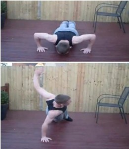 Rotational Push Up