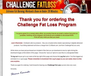 Challenge Fat Loss Download
