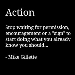 Mike Gillette - Psychology of Strength - Take Action